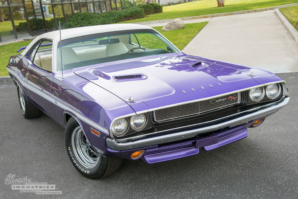 Purple 70 Challenger RT 1