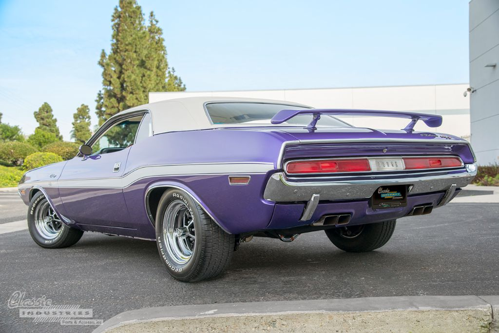 Purple 70 Challenger RT 2