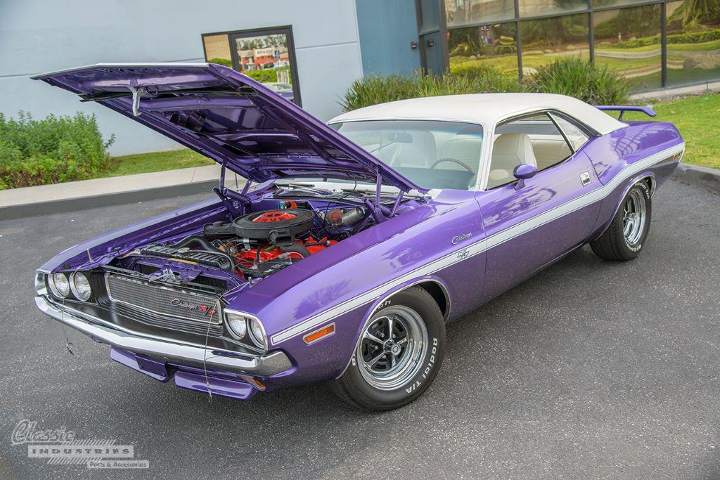 Purple 70 Challenger RT 3