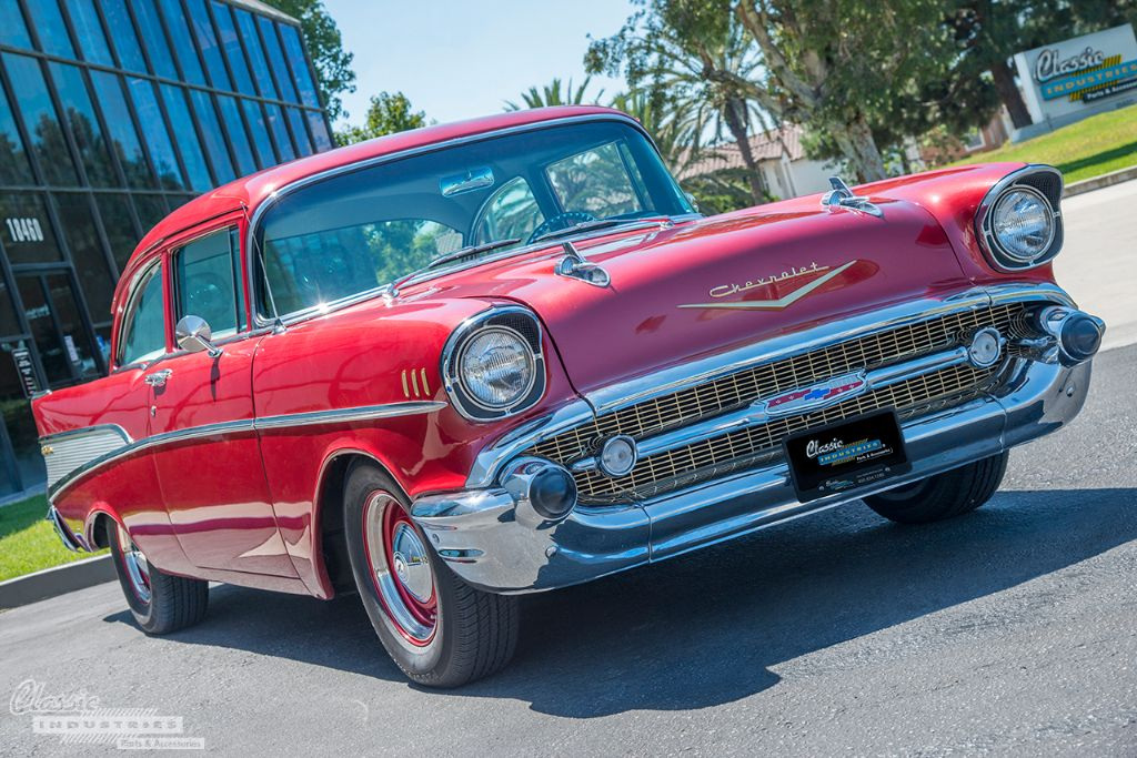 Red '57 Bel Air 1