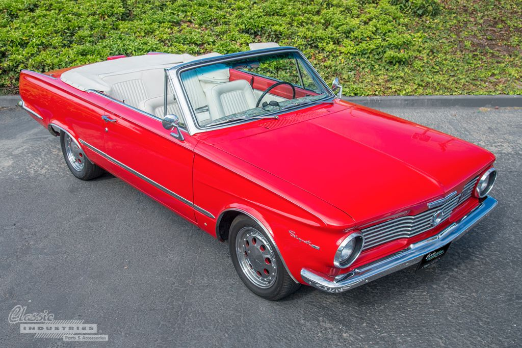Red 64 Valiant convertible 01