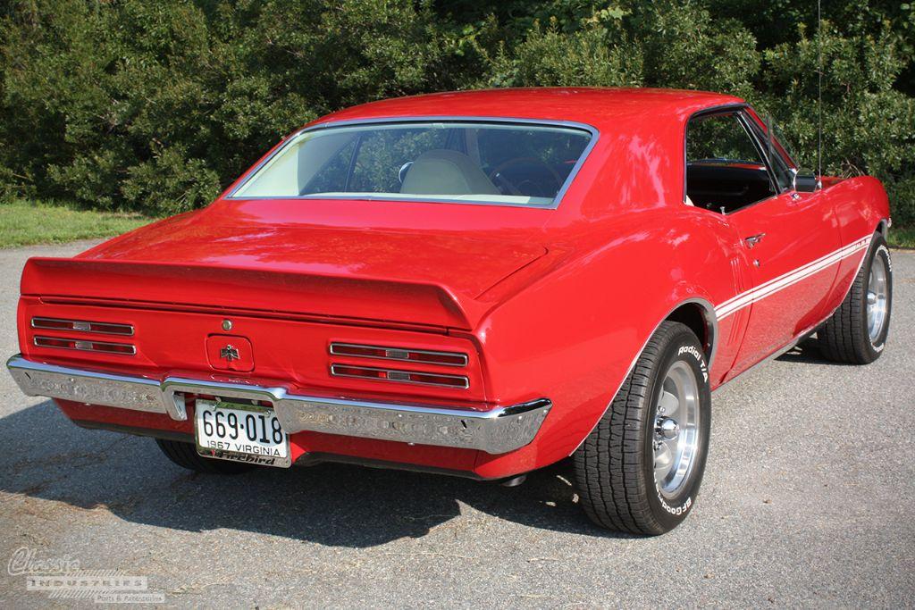 Red 67 Firebird Tim Woolard 2