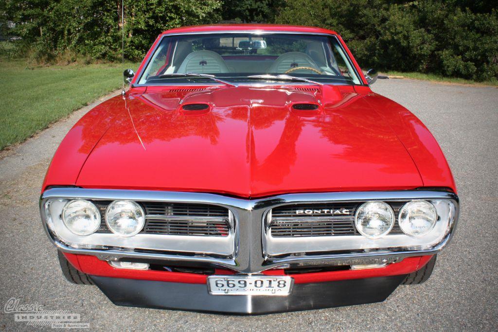 Red 67 Firebird Tim Woolard 7