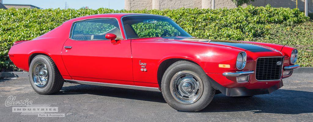 Red 70 Camaro SS 02