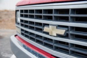 Red '90 C1500 work truck 4