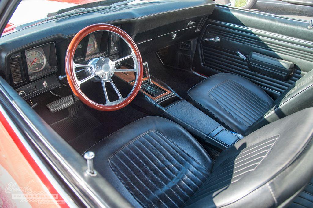 Red white 69 Camaro RS 06