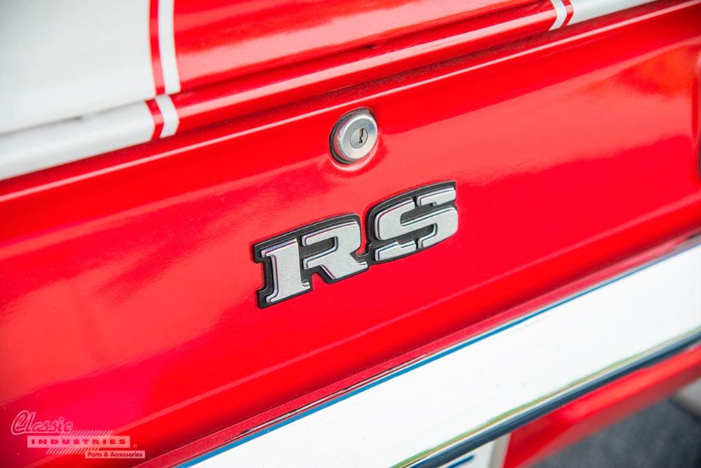 Red white 69 Camaro RS 07