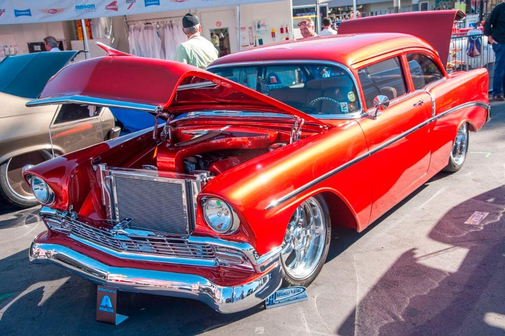 SEMA 1956 Chevy 210 01