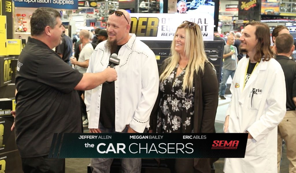 The Car Chasers at SEMA 2015 with Classic Industries