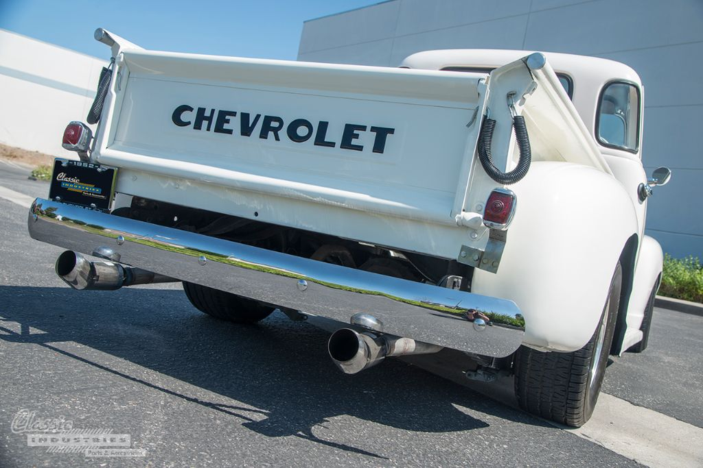 White 52 Chevy pickup 02