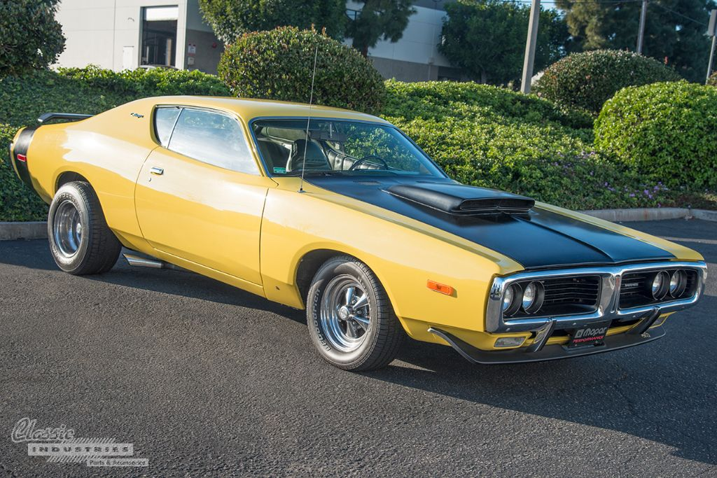 Yellow 72 Charger