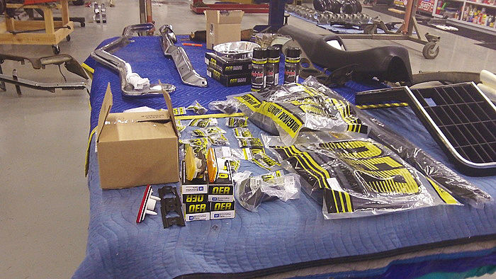 A proverbial Christmas morning with a wealth of new reproduction parts from Classic Industries.