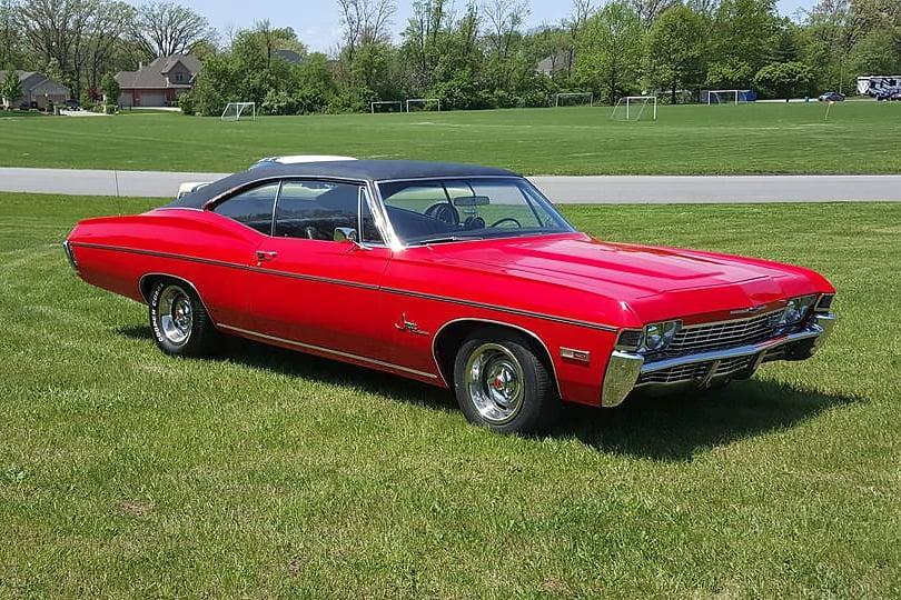 Joey Cook 68 Impala Super Sport big block