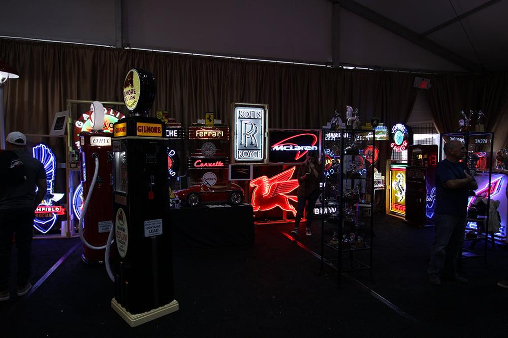 Neon at Retro Auto