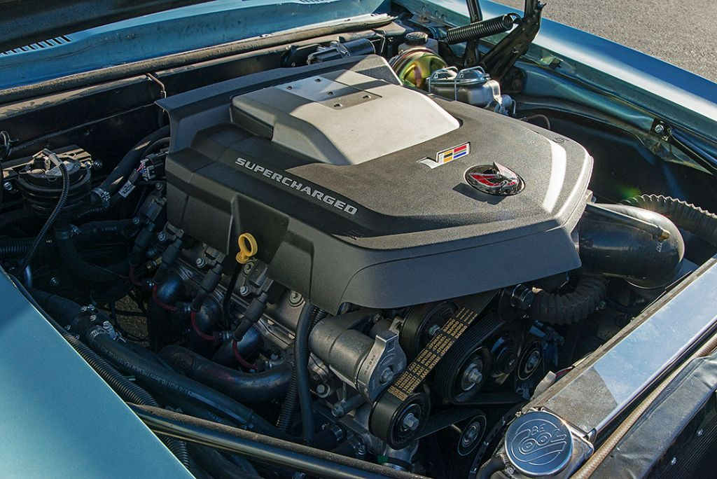 68 Firebird LSA Engine