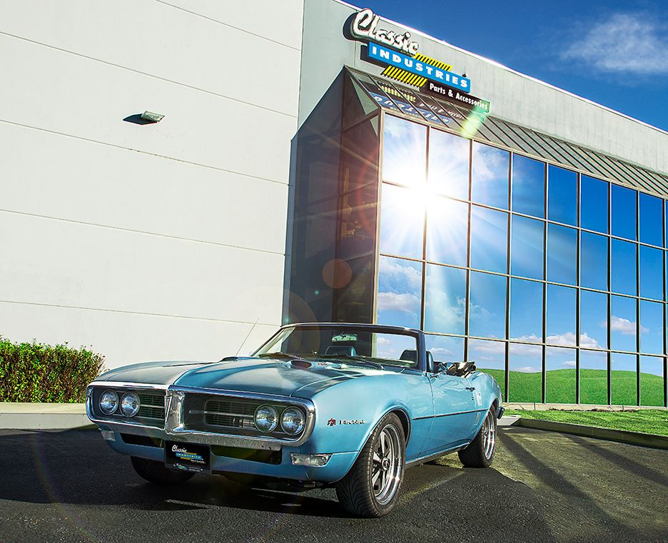 1968 Pontiac Firebird LSA sleeper