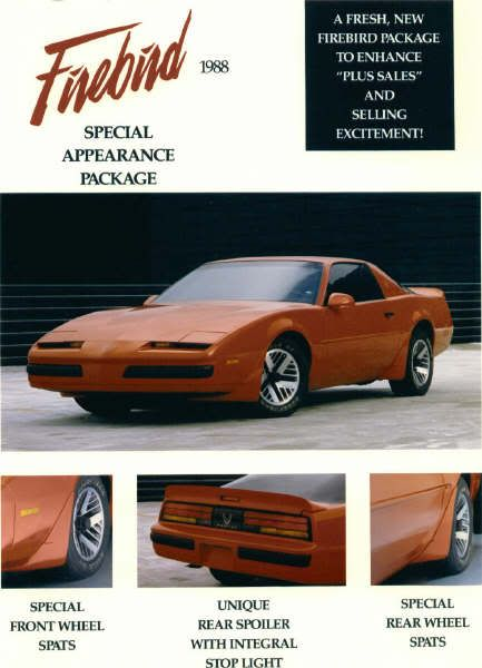 Z20 Firebird Appearance Package