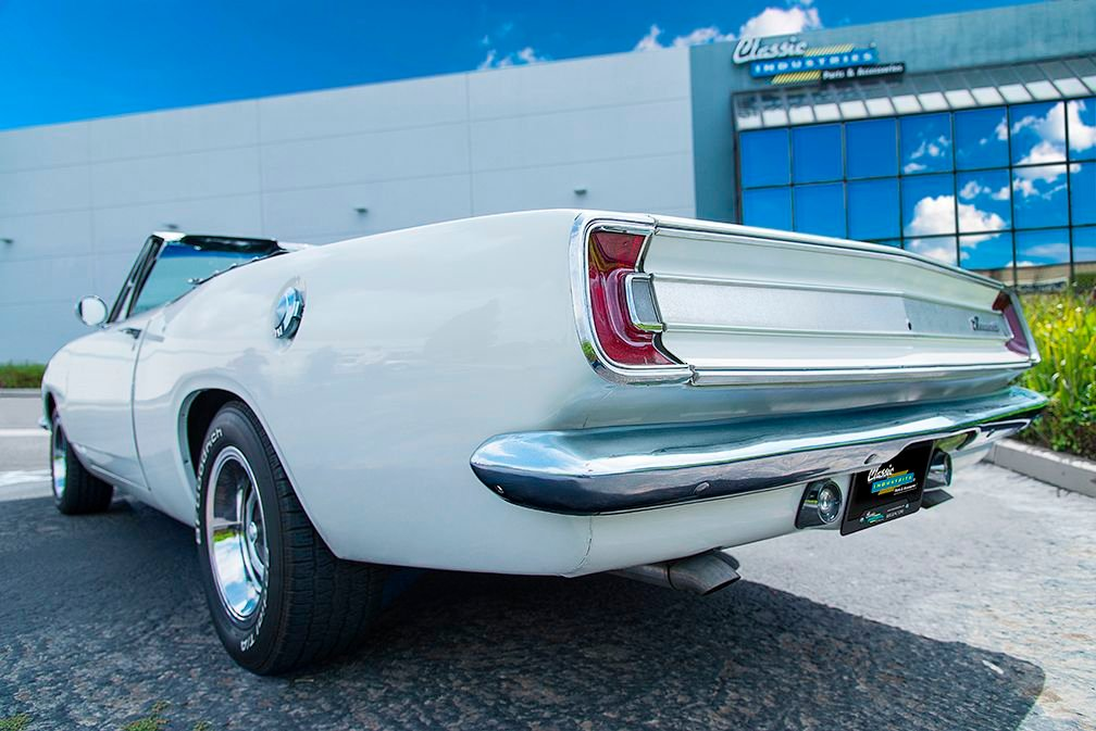 1967 Plymouth Barracuda convertible
