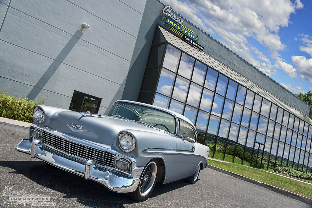 the trifive chevy bel air
