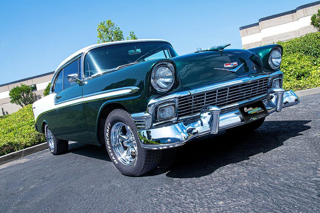 1956 Chevy Bel Air restored