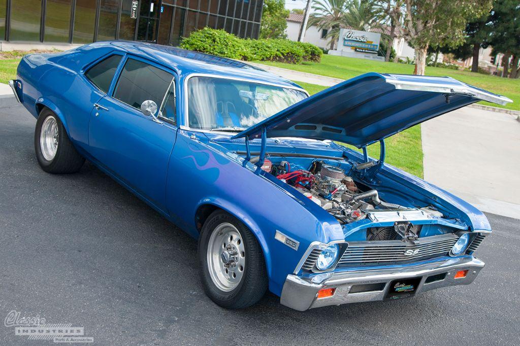 Blue flame '68 Nova SS 1
