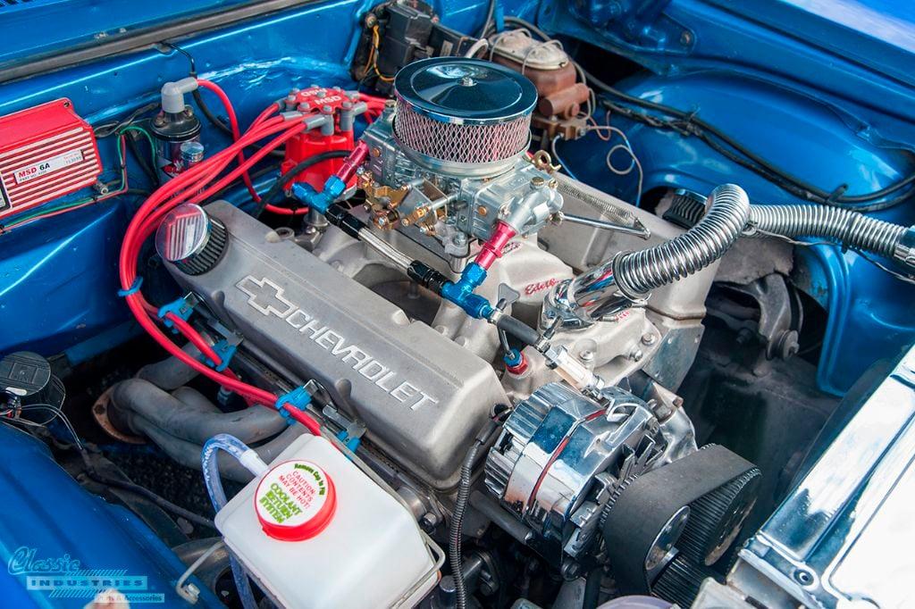 Blue flame '68 Nova SS 4