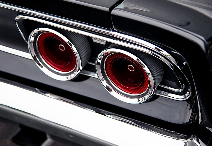 1968 Charger Tail Lamps
