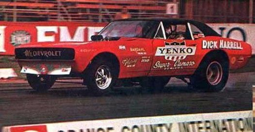 Harrell's Funny Car in Action