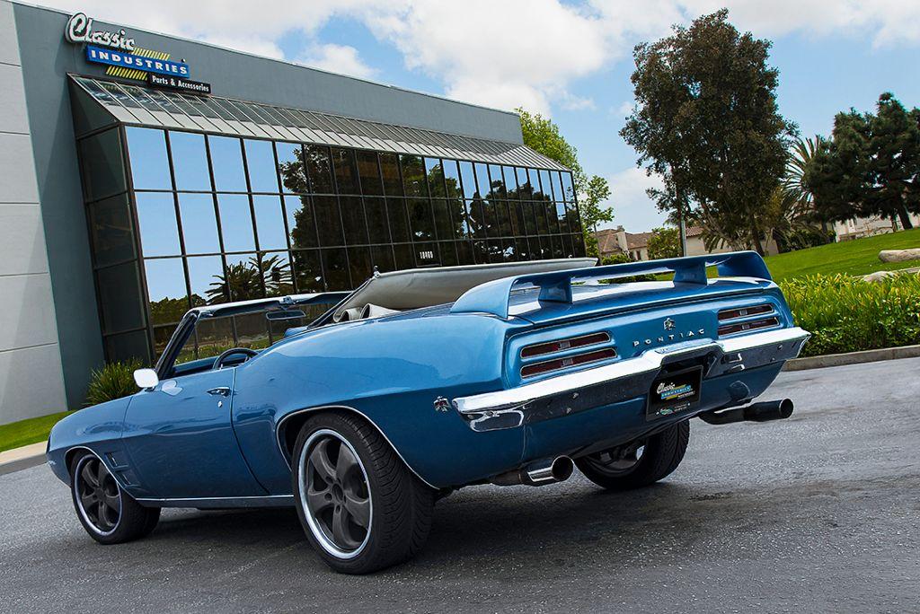 1969 Pontiac Firebird convertible restoration