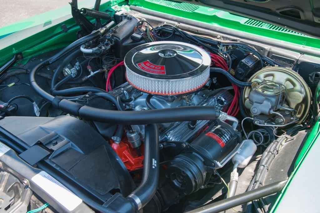 '69 Camaro 350ci V8 engine bay