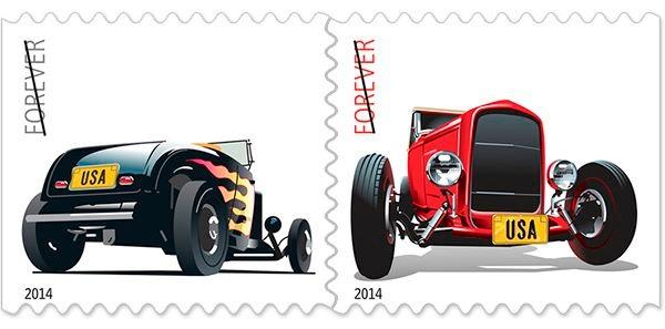 Hot Rod Forever Stamp