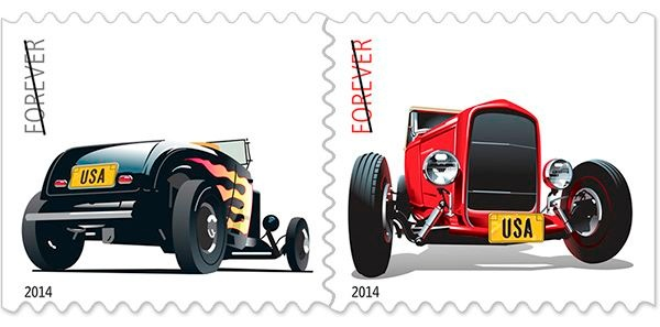 Hot Rod Forever Stamp