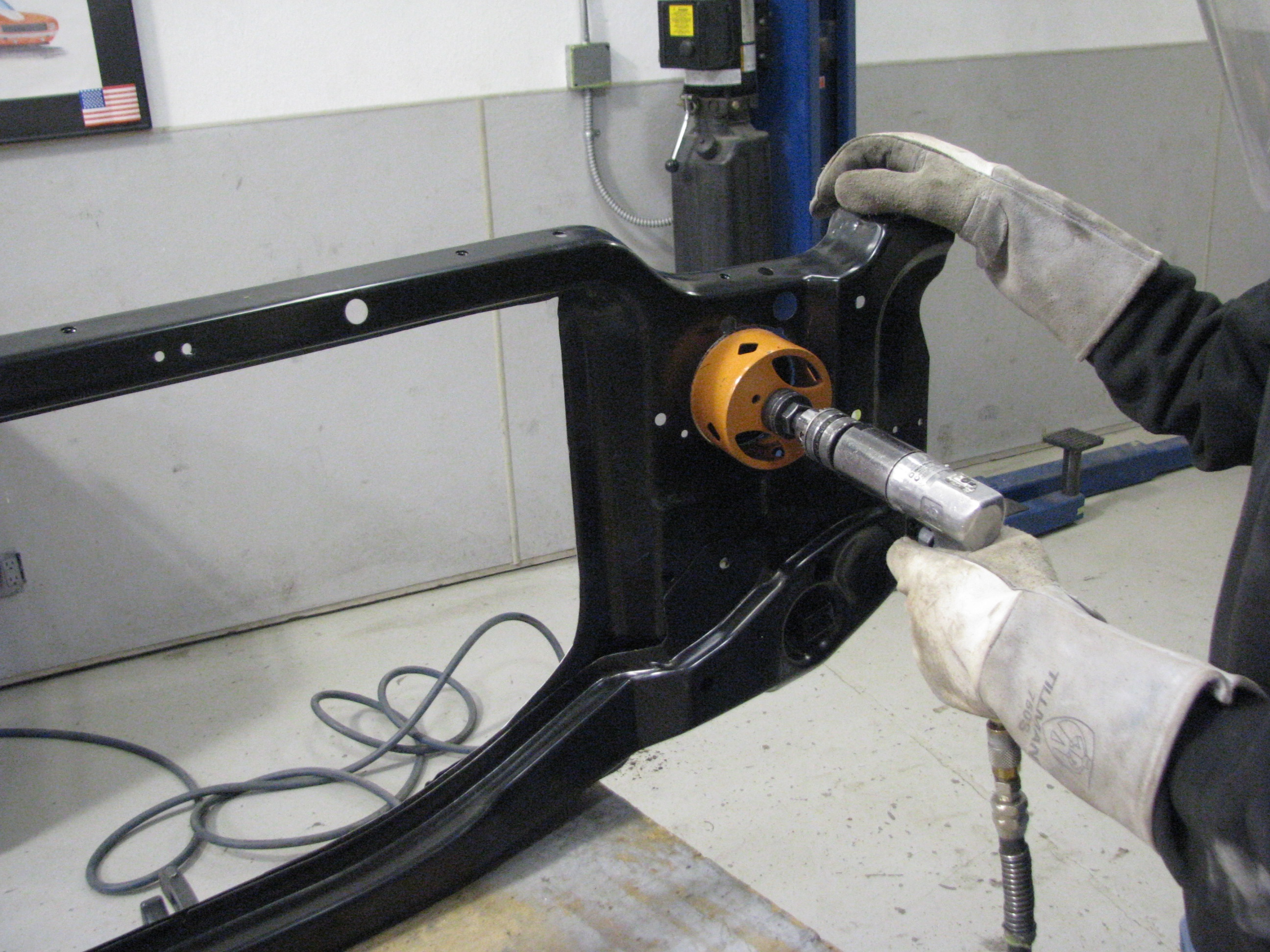 Fixing the Carbon Camaro