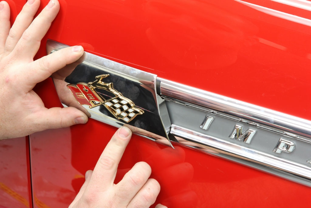 Classic Industries has virtually anything and everything trim wise for the '59 Impala. Dean looked to Classic Industries for its vast selection of quality reproduction parts making vehicle assembly considerably easier.
