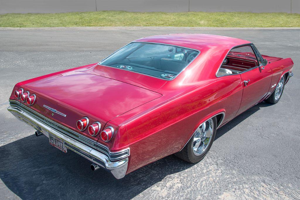 Maroon '65 Impala SS 2
