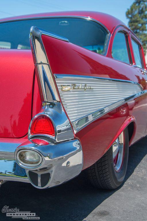 Red '57 Bel Air 6