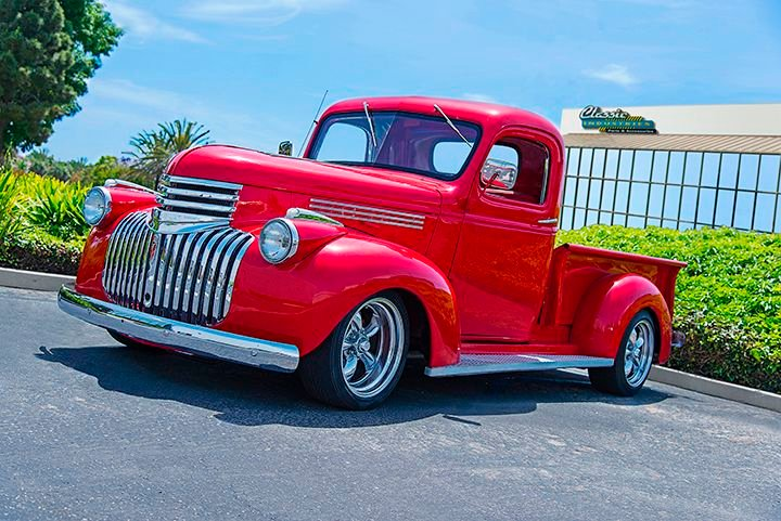 46 Chevy Truck The Search For Perfection