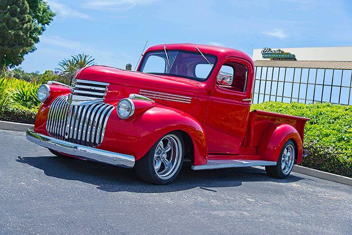 1946 Chevy pickup restored