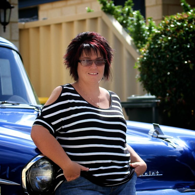 Bec Allnatt hails from Perth, in western Australia, and has always been a big fan of classic cars.