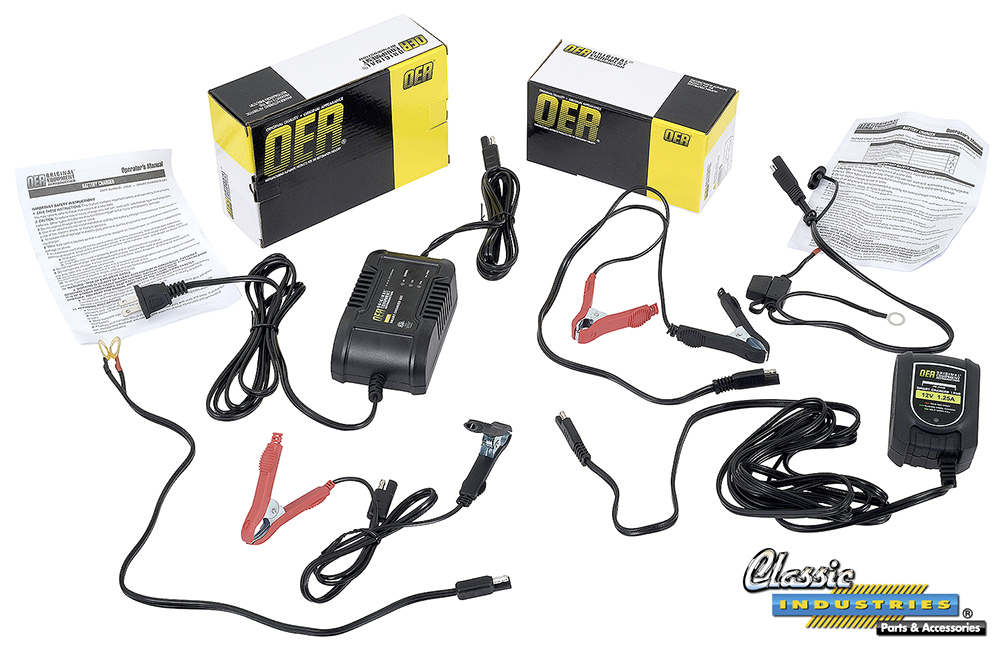 OER Smart Battery Chargers Keep Your Muscle Machines Batteries Strong
